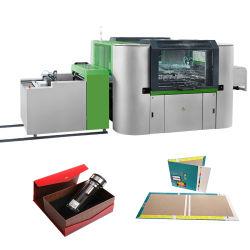 Papierprodukt-Kasten, der Maschine für Notizbuch-/Datei-Geschenk-Kasten herstellt