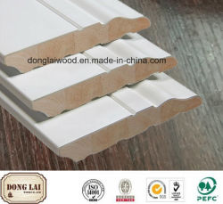 Imperméable en bois blanc pin radiata apprêtés de haute qualité plinthe des prix concurrentiels