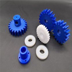 Prodotti in plastica CNC stampaggio ad iniezione plastica UHMWPE / HDPE PE1000 PE 500 PA POM PP ABS parti in plastica per macchina