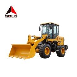 Top de linha da Sdlg LG918 1.8T carregadora de rodas pequenas flexível compacto com 1m3 com alta eficiência de trabalho da Caçamba para o material solto