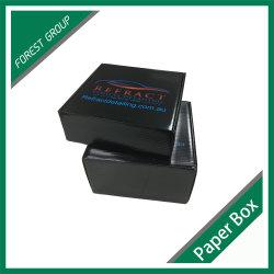 Noir brillant caméra boîte d'emballage en carton ondulé (FP6073)