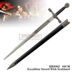 Espadas com a espada do rei Artur 84cm HK8362