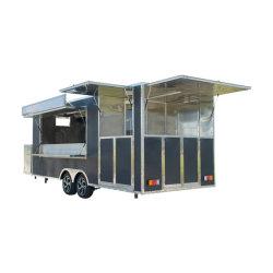 Pequeño/Gran Calle Catering Tráiler Carreta camión de alimentos Alimentos Stand Tráiler Van con ventana a la venta
