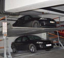 2 уровнях подземный гараж смотровую яму на уклоне Автостоянка системы