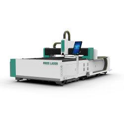 Hohe Leistung CNC-Metallscherblock-Schlüssel-kupferner Glasfräser-Aluminiumfaser-Laser-Ausschnitt-Geräten-Maschine