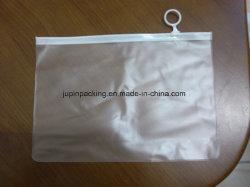 2018 Wholesales Custom пустых прозрачных ПВХ косметический подарочный пакет (Jp-Plastic004