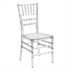 واضحة [أكرليك رسن] خشبيّة [شفري] كرسي تثبيت لأنّ عرس فندق يتعشّى