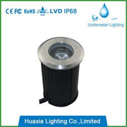Ce RoHS IP67 Resistente al agua subterránea de LED Lámpara Luz enterrada