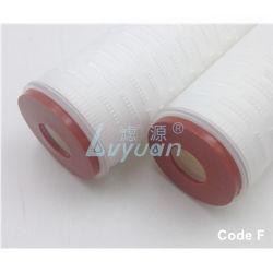 Hydrophilia Micro картридж фильтра 0,45 um PTFE Пористые мембраны фильтра для 10 20-дюймовый минеральной воды завод фильтрации