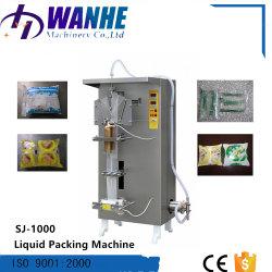 L'eau potable de jus de lait automatique Sachet Machine d'emballage de liquides avec des sacs