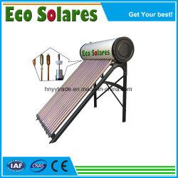für Ausgangs-/Schule-/Hotel-hohe Leistungsfähigkeit unter Druck gesetzter Wärme-Rohr-Solarwarmwasserbereiter
