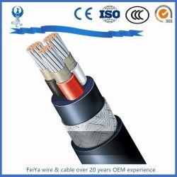 precio de fábrica Electric empujar tirar del cable blindado de la dirección del cable de alimentación marina