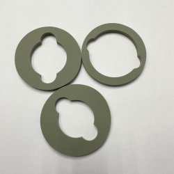 حاوية إدراج إسفنجية EVA في التغليف للعلبة من النوع Die قطع إسفنج خلات فينيل الإيثيلين (