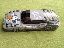 Stagno della cassa di matita del metallo di figura dell'automobile