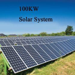 Essere facile da montare 100kw fuori dal sistema di energia solare di griglia, sistema termico solare per il riscaldamento ad acqua calda, prezzo del sistema solare della protezione di V