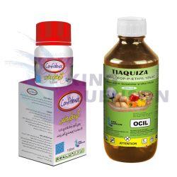 prix d'usine directe contre les mauvaises herbes quizalofop-p-éthyl 10 % de ce fournisseur d'herbicides