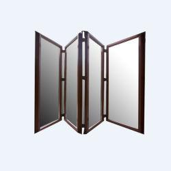 분말 입히는 알루미늄 밀어남 접게된 문