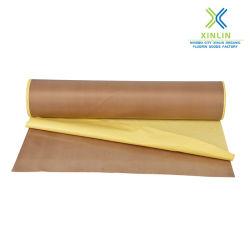 Autoadhésif à bas prix du ruban adhésif en fibre de verre recouvert de PTFE
