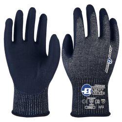 A4 13G Schneiden-Beständiger Arbeits-Handschuh mit Mikroschaumgummi-Nitril-Beschichtung auf Palme
