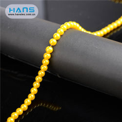 Hans Service personnalisé trou Pearl Beads en plastique