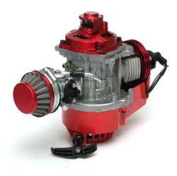 À49cc manuel de moteur de course Red Mini Pocket Mini moto ATV Dirt Bike refroidi par air
