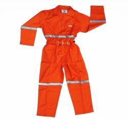 Ropa de trabajo de color Naranja reflectante de seguridad mono de trabajo