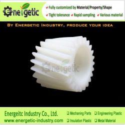 PA66 en nylon résistant à la corrosion pignon à denture hélicoïdale de composant de structure d'entraînement de l'automobile/Mini / poulie d'engrenage du pignon d'engrenage/engrenages coniques/plastique CMV/engrenages à denture droite