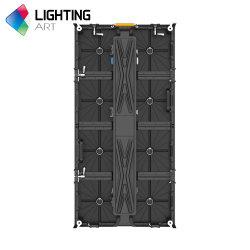 Eli Max P3.91 屋内用ステージレンタル吊り下げ式カーブ LED フレキシブルビデオ LED ウォールディスプレイ画面