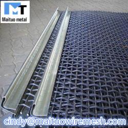 Grille métallique tissée Mine /tamis à mailles de pierre