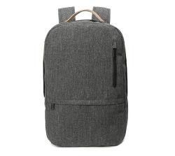 Нейлон черного хода плечо сумка для ноутбука рюкзак