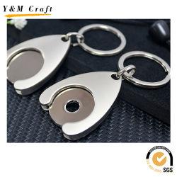 Chariot personnalisé Pièce de monnaie en métal de la chaîne de clé