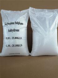 Poudre blanche du sulfate de magnésium anhydre Mgso4