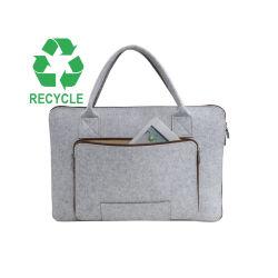 식료품류 여행 끈달린 가방을%s 재사용할 수 있는 Eco 쇼핑 백 펠트 직물