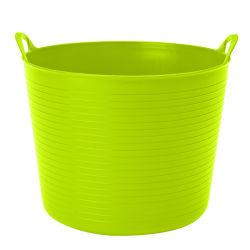 Tratadas ao redor de armazenamento de plástico flexível Caçamba cestos de Lavandaria
