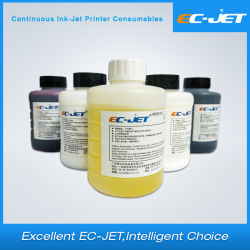 Venta caliente alimentación fábrica Ec-Jet Eco solvente para tintas tinta de color blanco/amarillo