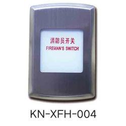 Ascensor de piezas, Bomberos, el interruptor de alarma de incendio