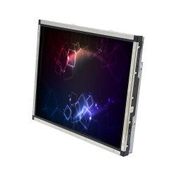 5 : 4 Square de l'écran LCD 17 pouces écran tactile de scie à châssis ouvert