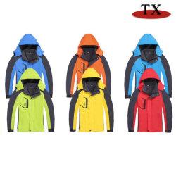 Estilos de quente dos homens e mulheres de vento e Vestuário impermeável para Outdoor casaco de Inverno