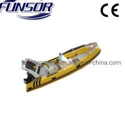 Alta Qualidade Dobrável Hypalon costela insufláveis Boat 520