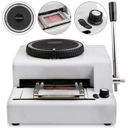 72 Carta Embosser Manual Impressora máquina de cartão de crédito/ID/VIP Embosser Novo