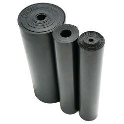 Stuoie di gomma costolate larghe nere antiscorrimento industriali che pavimentano la stuoia della gomma degli strati
