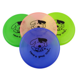 Chien Flying Disc, silicone Pet Toy Disque de formation de chien de silicone
