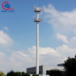Konischer achteckiger Telekommunikationsaufsatz-Stahlpole-Aufsatz-Fernsehturm mit galvanisiert