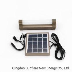 Draagbare hangende lamp op zonne-energie met USB-aansluiting voor thuis en op de camping