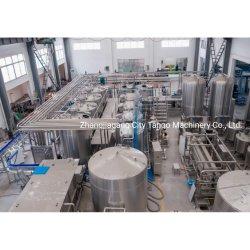 Bottiglia automatica in vetro Orange Sugar cane Juice linea di produzione centrifuga