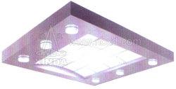 La Cabane de l'élévateur de plafond avec cercle sculpter lumière transparente (HDHM-456)