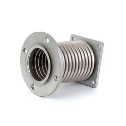 Los Fuelles de metal corrugado de dilatación con brida de acero inoxidable