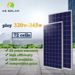 275W 330W 380W à 600 W, haute efficacité Panneau solaire polycristallin monocristallin et module de panneau solaire photovoltaïque et système d'alimentation solaire d'accueil