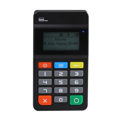 Snf ISO/IEC 14443 Leitor de cartão 68g sem fio Mini POS Móvel Linux MP45