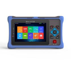Mini-OTDR 1550nm 20dB Refletômetro de Fibra Óptica Ecrã Táctil Vfl Ols Opms caso Equipamento Testador de Cabo Ethernet de Mapa